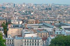 Vista di Parigi da Montmartre Immagini Stock Libere da Diritti