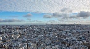 Vista di Parigi dalla cima Fotografie Stock