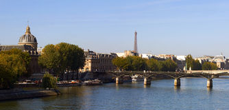 Vista di Parigi, Francia Fotografie Stock Libere da Diritti