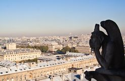 Vista di Parigi. La Francia. Fotografia Stock Libera da Diritti