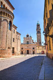 Vista di Parma. L'Emilia Romagna. L'Italia. Fotografie Stock Libere da Diritti