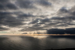 Vista di Peninha sopra l'Oceano Atlantico Fotografie Stock Libere da Diritti