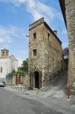 Vista di Perugia. L'Umbria. Fotografia Stock Libera da Diritti
