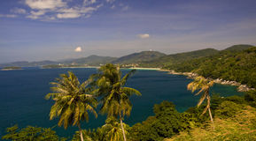 Vista di Phuket Fotografia Stock Libera da Diritti