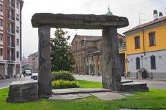 Vista di Piacenza. L'Emilia Romagna. L'Italia. Fotografie Stock