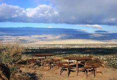 Vista di picnic Fotografia Stock Libera da Diritti