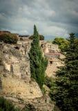 Vista di Pompei Immagine Stock