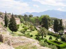 Vista di Pompei Immagini Stock