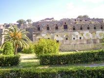 Vista di Pompei Fotografia Stock Libera da Diritti