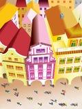 Vista di Praga fotografie stock libere da diritti