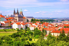 Vista di Praga Immagini Stock