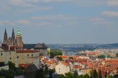 Vista di Praga immagini stock libere da diritti