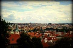 Vista di Praga Immagine Stock Libera da Diritti