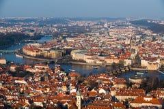 Vista di Praga Fotografia Stock Libera da Diritti