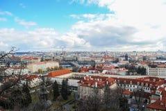 Vista di Praga Fotografie Stock