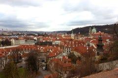 Vista di Praga Fotografia Stock