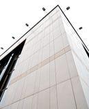 Vista di prospettiva di costruzione corporativa Fotografia Stock