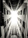 Prospettiva di architettura Fotografia Stock Libera da Diritti