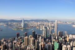 Vista di punta 2010 di Hong Kong Fotografia Stock Libera da Diritti