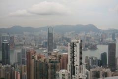 Vista di punta di Hong Kong Immagini Stock Libere da Diritti