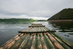 Vista di rafting Immagini Stock Libere da Diritti