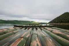 Vista di rafting Fotografia Stock Libera da Diritti