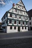 Vista di Riedlingen Immagini Stock