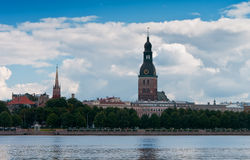Vista di Riga Immagine Stock Libera da Diritti