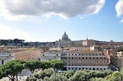 Vista di Roma Fotografie Stock