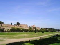Vista di Roma antica Fotografia Stock Libera da Diritti