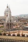 Vista di Roma da sopra Fotografia Stock