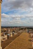 Vista di Roma dal Vaticano Fotografie Stock Libere da Diritti