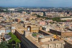 Vista di Roma dal Vaticano Fotografia Stock Libera da Diritti