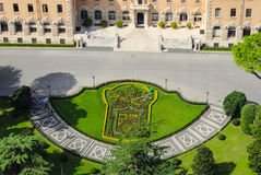 Vista di Roma dal Vaticano Fotografia Stock