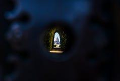 Vista di Roma del foro chiave di St Peters Immagine Stock Libera da Diritti