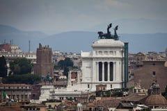 Vista di Roma, Italia Fotografie Stock