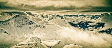 Vista di Rothorn fotografia stock libera da diritti