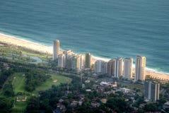 Vista di São Conrados fotografie stock