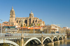Vista di Salamanca Fotografie Stock Libere da Diritti