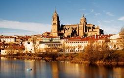 Vista di Salamanca, Spagna Immagine Stock