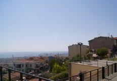 Vista di Salonicco Immagine Stock