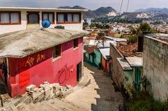 Vista di San Cristobal de Las Casas, Messico Fotografie Stock Libere da Diritti