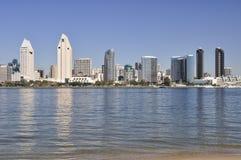 Vista di San Diego Fotografia Stock