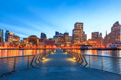 Vista di San Francisco dal pilastro 14 Fotografia Stock Libera da Diritti