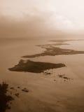 Vista di San Pedro a Belize Fotografia Stock Libera da Diritti