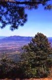 Vista di Sandia Immagini Stock