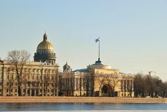Vista di Sankt Pietroburgo Fotografia Stock Libera da Diritti