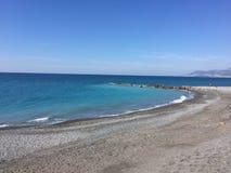 Vista di Sanremo Ligure Italia Nizza Immagini Stock Libere da Diritti