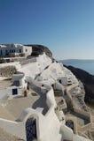 Vista di Santorini immagine stock libera da diritti