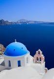 Vista di Santorini Fotografie Stock Libere da Diritti